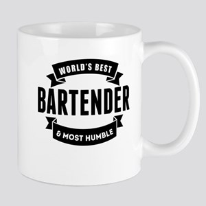 Worlds Best And Most Humble Bartender Mugs