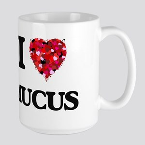 I Love Mucus Mugs