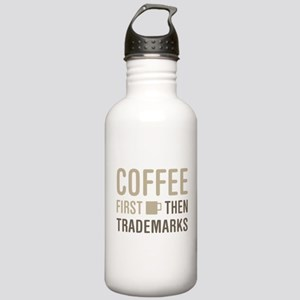 Coffee Then Trademarks Stainless Water Bottle 1.0L