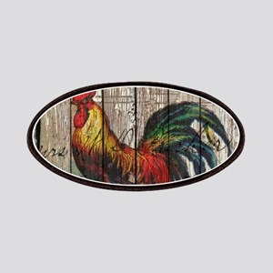 rustic farm country rooster Patch