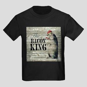 funny pig bacon king T-Shirt