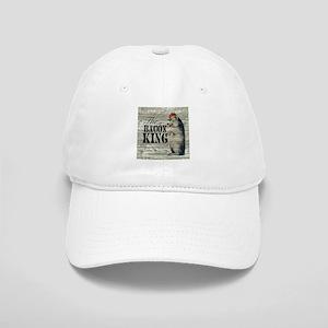 funny pig bacon king Cap