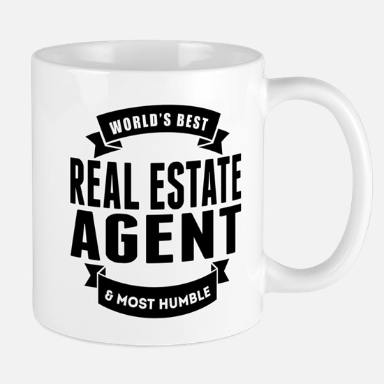 Worlds Best And Most Humble Real Estate Agent Mugs