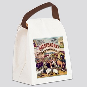 Halstead and C beef and pork Pack Canvas Lunch Bag