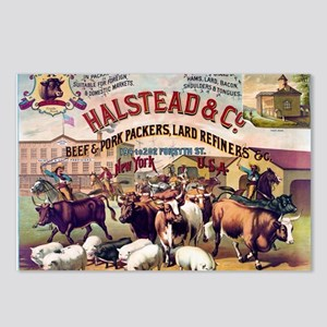 Halstead and C beef and p Postcards (Package of 8)