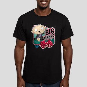 Family Guy Big Winner Men's Fitted T-Shirt (dark)
