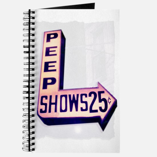 Peep Shows 25 Cents Photo Journal