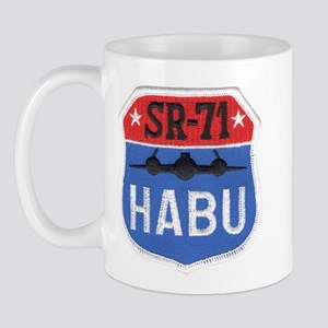 SR-71 Blackbird HABU Mug