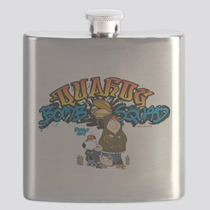 Family Guy Quahog Bomb Squad Flask