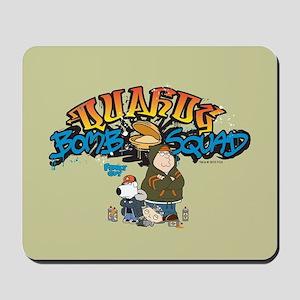 Family Guy Quahog Bomb Squad Mousepad