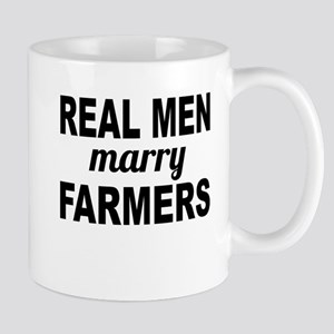 Real Men Marry Farmers Mugs