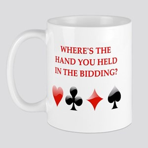 duplicate bridge gifts Mug