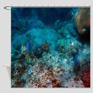 Underwater Sealife Shower Curtain