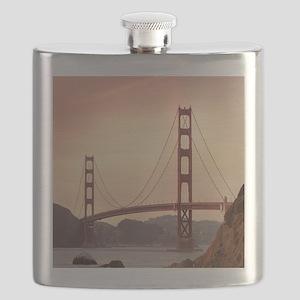 Beautiful Golden Gate Bridge Flask
