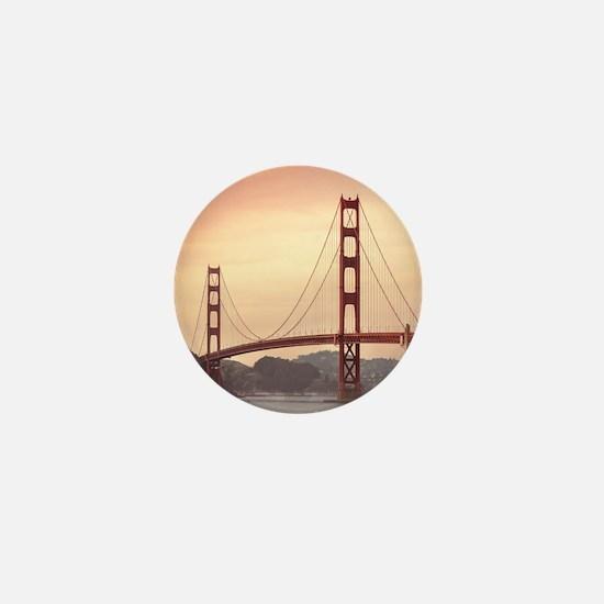 Beautiful Golden Gate Bridge Mini Button