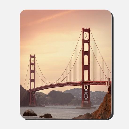 Beautiful Golden Gate Bridge Mousepad