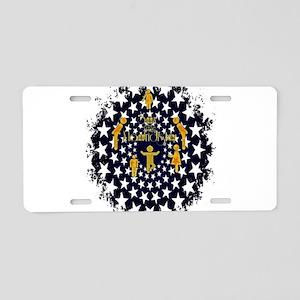 RightOn Madridista Aluminum License Plate
