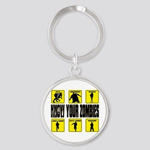 zombie, state of decay Round Keychain
