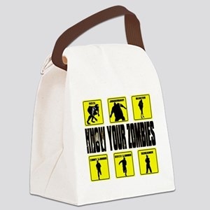 zombie, state of decay Canvas Lunch Bag