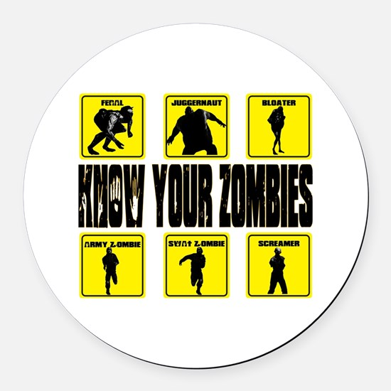 zombie, state of decay Round Car Magnet