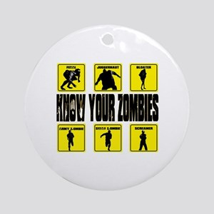 zombie, state of decay Round Ornament