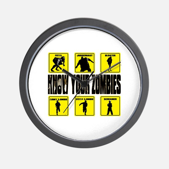 zombie, state of decay Wall Clock