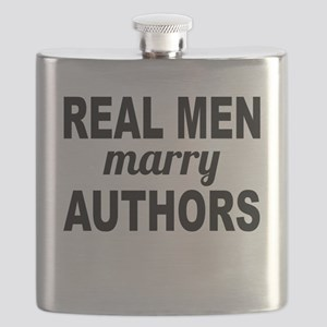 Real Men Marry Authors Flask