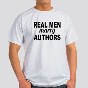 Real Men Marry Authors T-Shirt