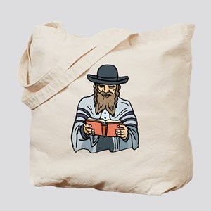 Man Praying Tote Bag