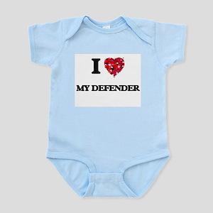 I Love My Defender Body Suit