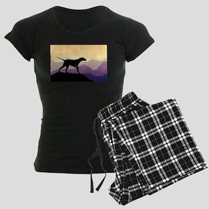 Purple Mountains Pointer Women's Dark Pajamas