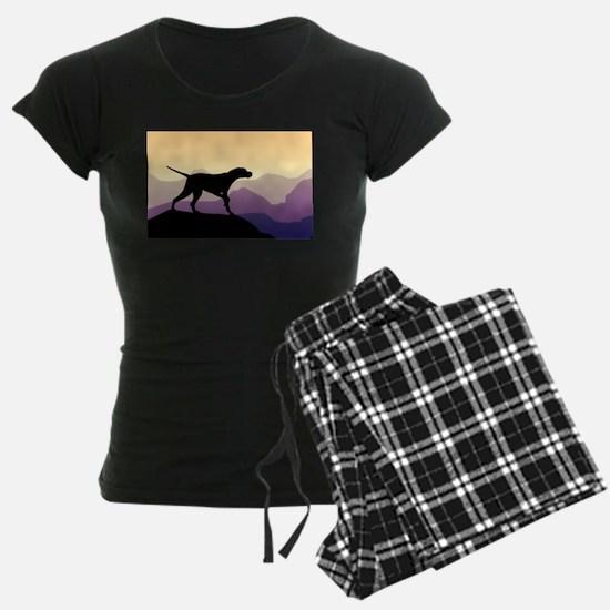 Purple Mountains Pointer Pajamas