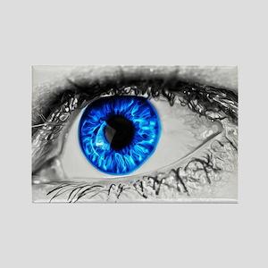 Blue Eye Rectangle Magnet