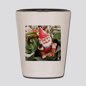 Gnome in the Succulents Shot Glass