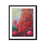Bougainvillea Framed Panel Print