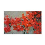 Bougainvillea 20x12 Wall Decal