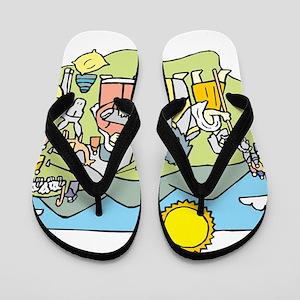 Judaism Flip Flops