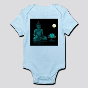 Teal Colour Buddha Body Suit