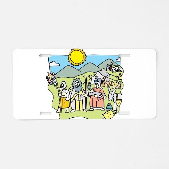 Judaism Aluminum License Plate