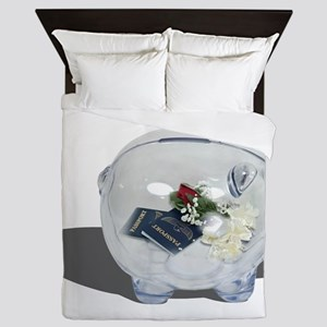 HoneymoonSavings103010 Queen Duvet