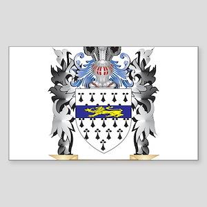 Garrett Coat of Arms - Family Crest Sticker