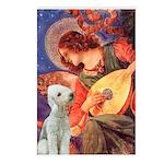 Angel / Bedlington T Postcards (Package of 8)