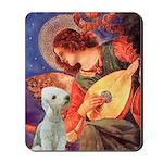 Angel / Bedlington T Mousepad