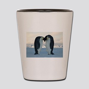 Emperor Penguin Courtship Shot Glass