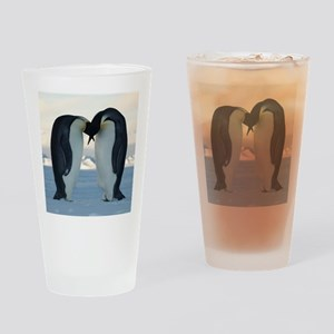 Emperor Penguin Courtship Drinking Glass