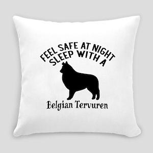 Sleep With Belgian Tervuren Dog De Everyday Pillow