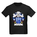 Padilha Family Crest Kids Dark T-Shirt