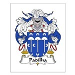 Padilha Family Crest Small Poster