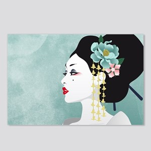 Japanese Woman Postcards (Package of 8)