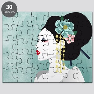 Japanese Woman Puzzle